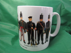 Wrap around Mug - Wellington's Rifles